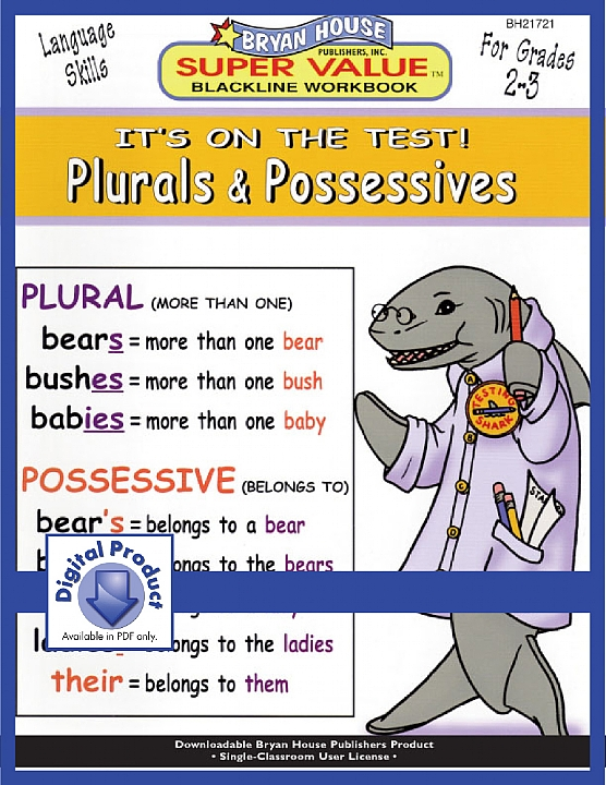 BH21721 - Plurals & Possessives (eBook version, PDF)