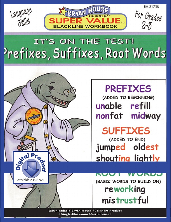 BH21738 - Prefixes, Suffixes, Root Words (eBook version, PDF)