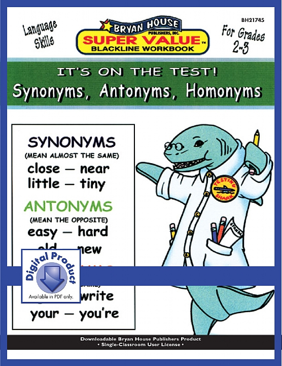BH21745 - Synonyms, Antonyms, Homonyms (eBook version, PDF)