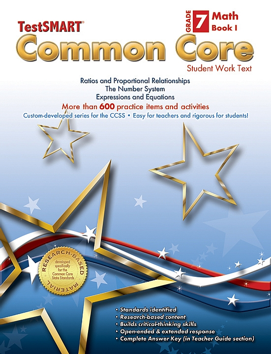 Common Core Student Work Texts Math Book I Gr 7