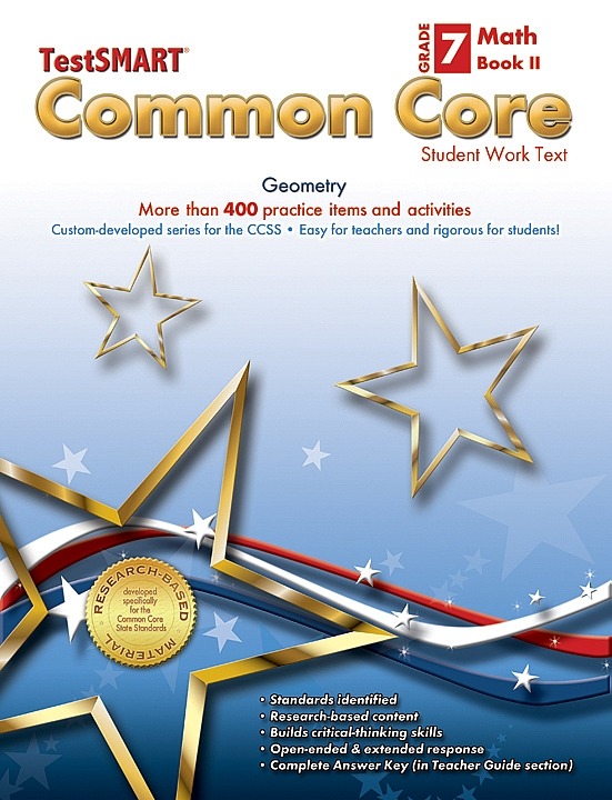 Common Core Student Work Texts Math Book II Gr 7