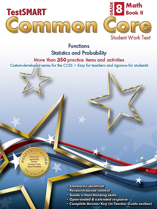 Common Core Student Work Texts Math Book II Gr 8
