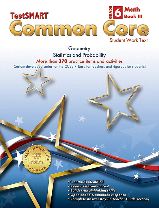 Common Core Student Work Texts Math Book III Gr 6