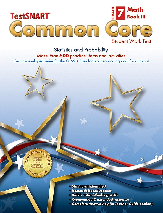 Common Core Student Work Texts Math Book III Gr 7