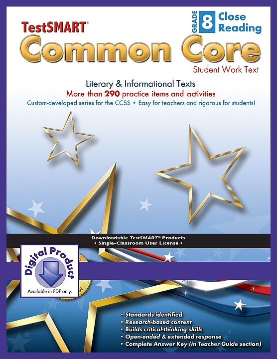 Common-Core-Student-Work-Texts-ebook-version-PDF-Close-Reading-Gr-8 ECS Learning Systems