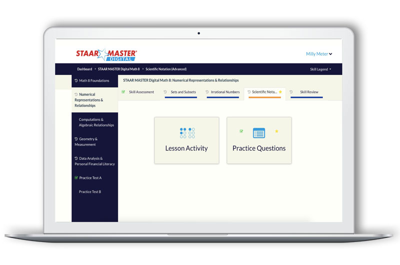 ECS Learning Systems Staar-Master-Digital