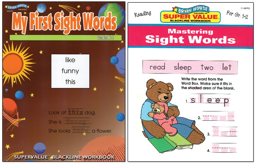 BH0004PS - Sight Words Set of 2 Books