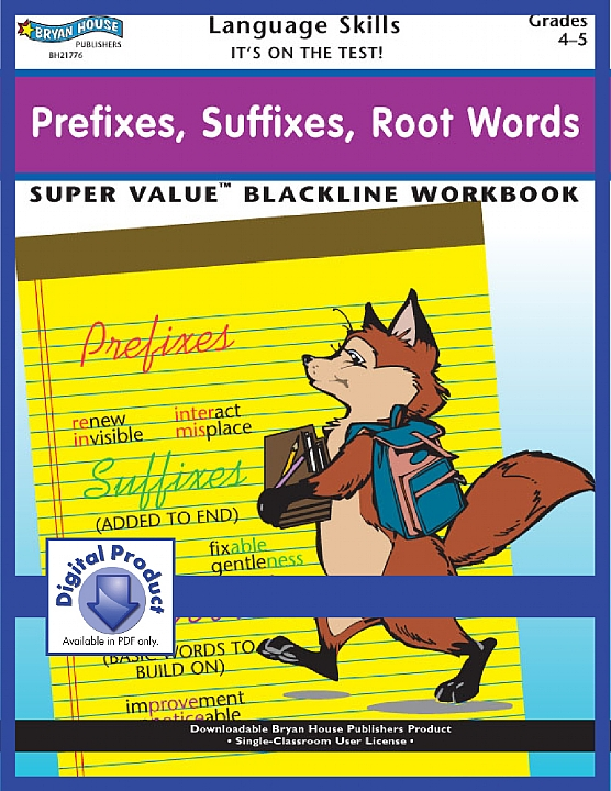 BH21776 - Prefixes, Suffixes, Root Words (eBook version, PDF)