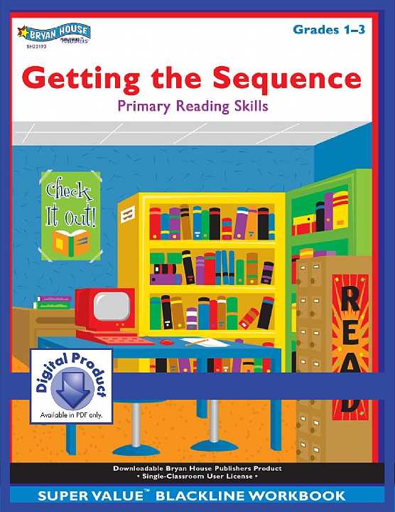 BH22193 - Getting the Sequence (eBook version, PDF) Gr 1-3
