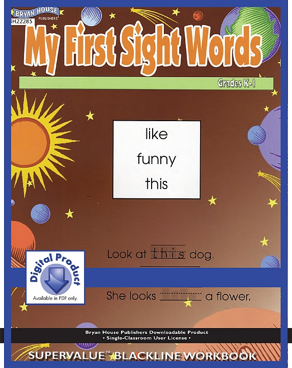 BH22285 - My First Sight Words Gr K-1
