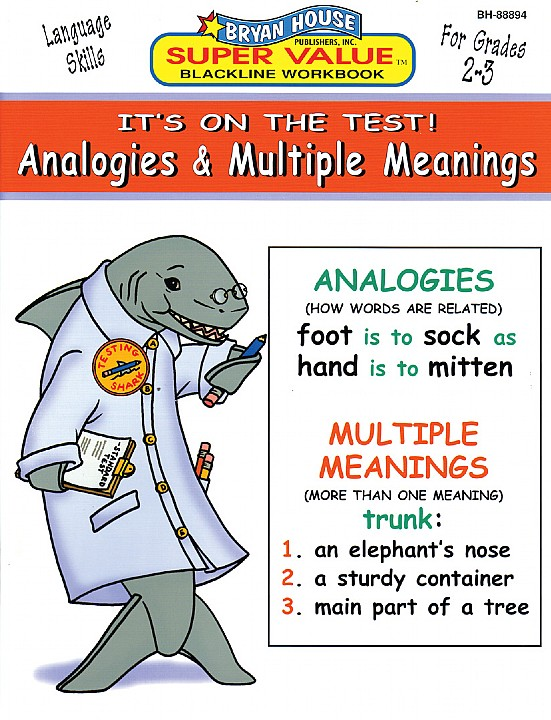 BH88894 - Analogies & Multiple Meanings Gr 2-3