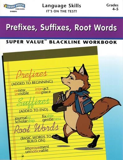 BH88896 - Prefixes, Suffixes, Root Words Gr 4-5