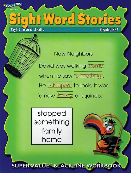 BH88911 - Sight Word Stories K-2