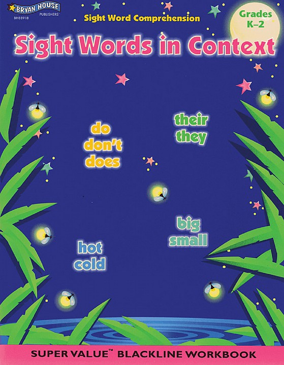 BH88918 - Sight Words in Context Gr K–2