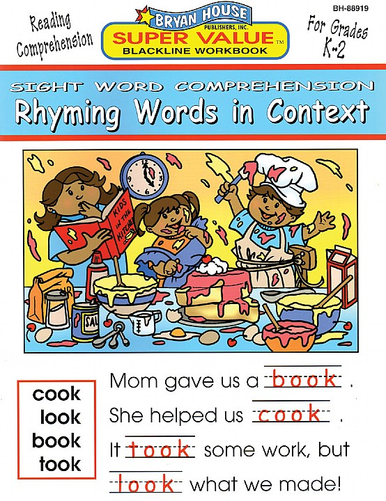 BH88919 - Rhyming Words in Context K-2