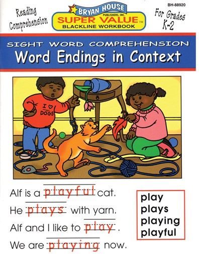 BH88920 - Word Endings in Context Gr K-2