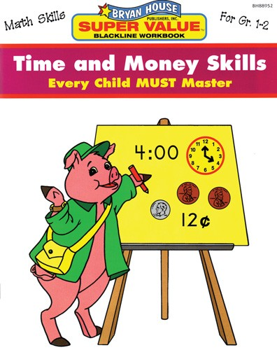 BH88952 - Time and Money Skills Gr 1-2