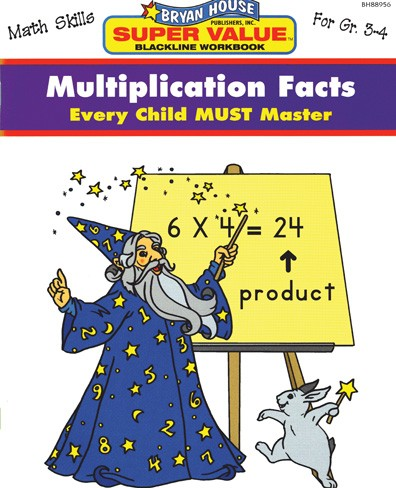 BH88956 - Multiplication Facts Gr 3-4