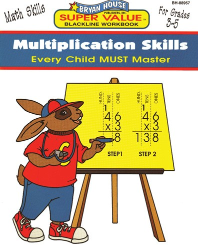 BH88957 - Multiplication Skills Gr 3-5