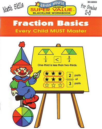 BH88959 - Fraction Basics Gr 2-3