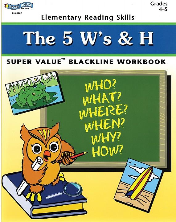 BH88987 - The 5 W's & H Gr 4-5