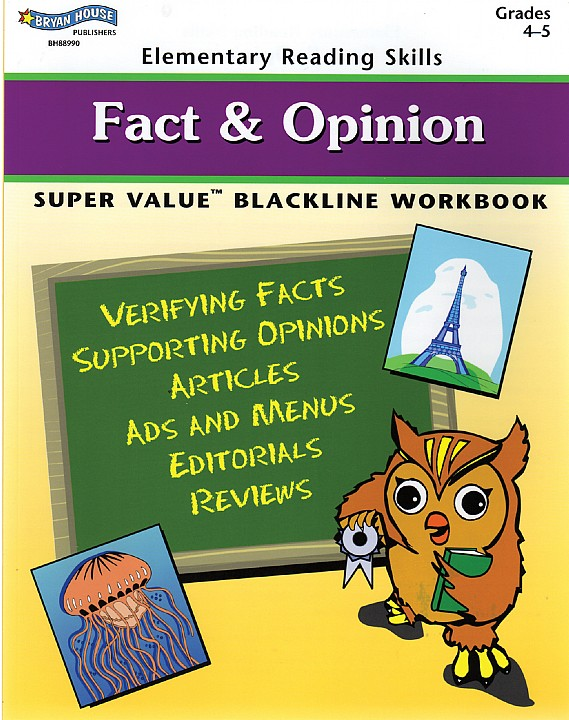 BH88990 - Fact & Opinion Gr 4-5