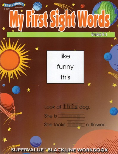 BH88991 - My First Sight Words Gr k-1