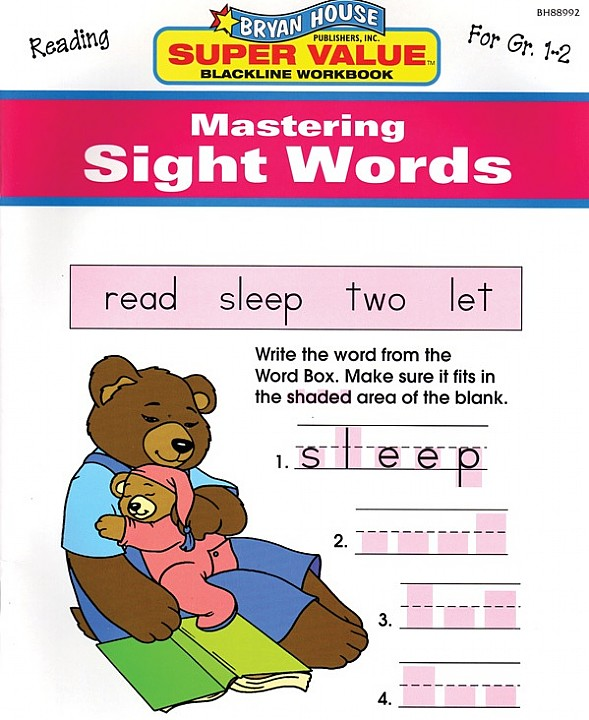 BH88992 - Mastering Sight Words Gr 1-2