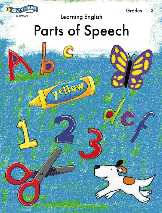 BH89591 - Parts of Speech Gr 1-3