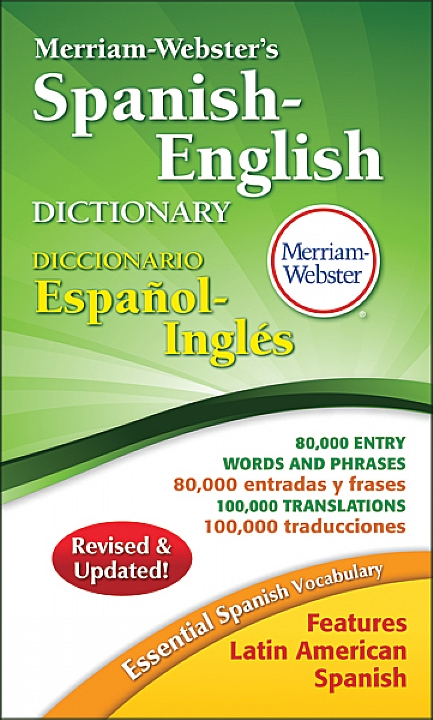 8248 - Merriam-Webster's Spanish-English Dictionary