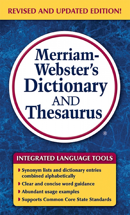 8637 - Merriam-Webster's Dictionary and Thesaurus