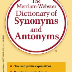 9061 - Merriam-Webster's Dictionary of Synonyms and Antonyms