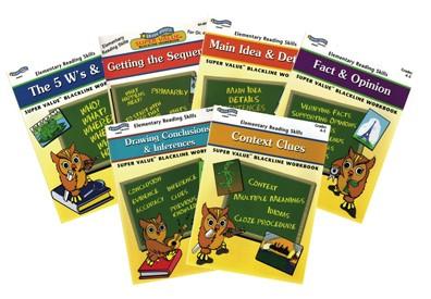 BH0013PS - Elementary Reading Skills Set of 6 Books Gr 4-5