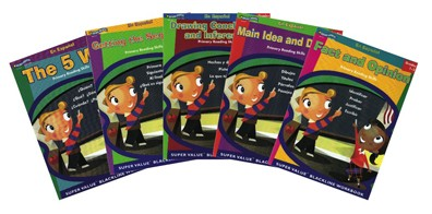 BH0014PS -Primary Reading Skills Set of 6 Books Gr 1-3 Spanish Version