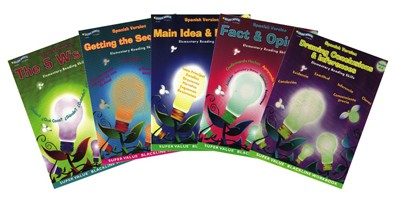 BH0018PS - Elementary Reading Skills Set of 6 Books Gr 4-5 Spanish Version