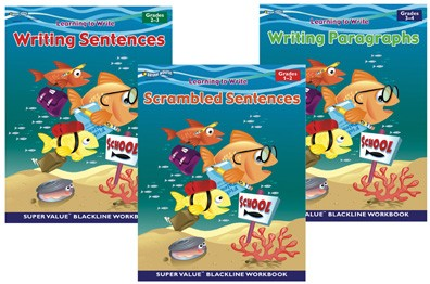 BH0019PS - Learning to Write Set of 3 Books Gr K-5