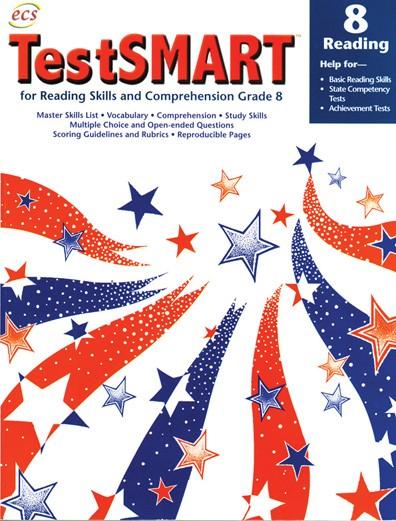 ECS2037 - TestSMART Student Practice Books Reading Gr 8