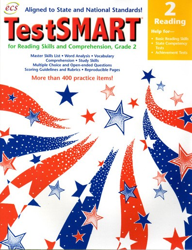 ECS2363 - TestSMART Student Practice Books Reading Gr 2