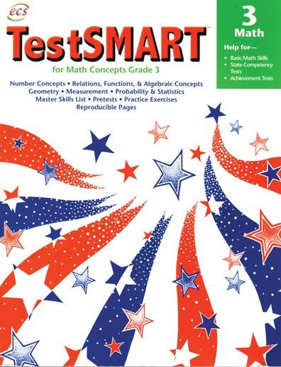 ECS2401 - TestSMART Student Practice Books Math Concepts Gr 3