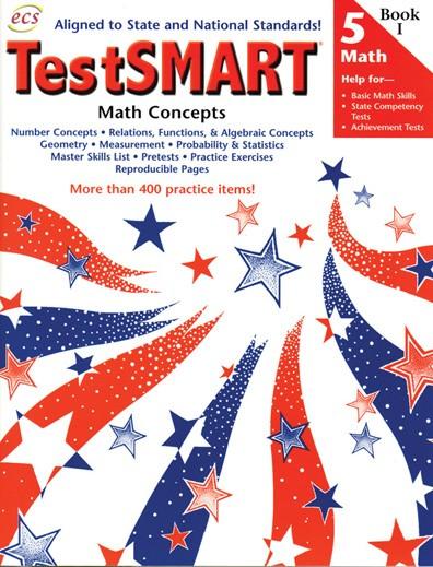ECS2444 - TestSMART Student Practice Books Math Concepts Gr 5