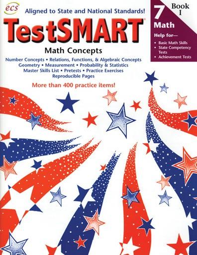 ECS2487 - TestSMART Student Practice Books Math Concepts Gr 7
