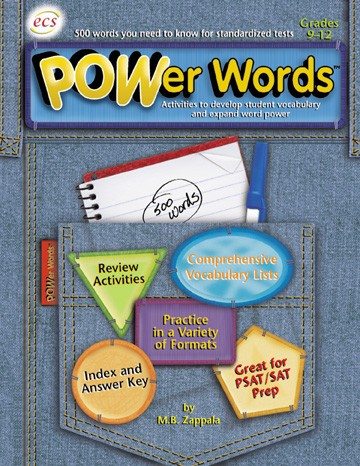ECS5494 - POWer Words Gr 9-12