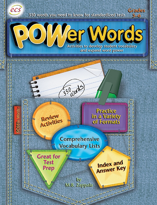 ECS8414 - POWer Words Gr 5-6