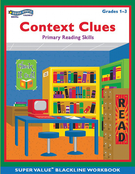 ECS Learning Systems BH88986-Context-Clues-Gr-1-3