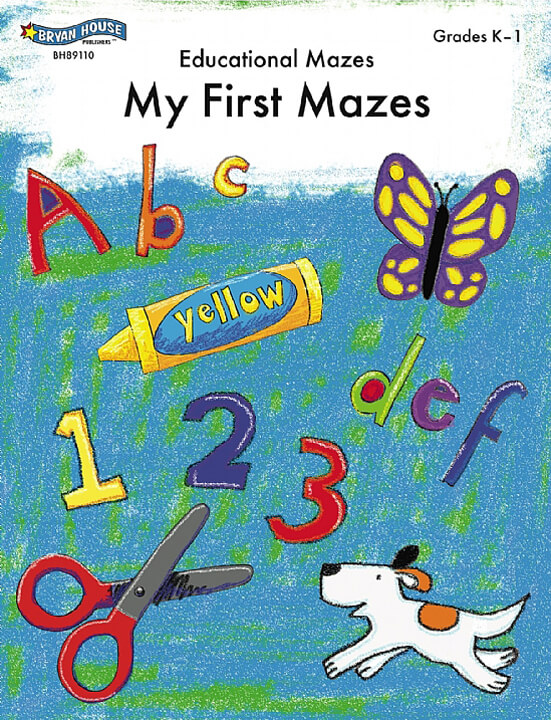 ECS Learning Systems BH89110-My-First-Mazes-Gr-K-1-1