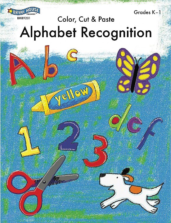 ECS Learning Systems BH89201-Alphabet-Recognition-Gr-K-1
