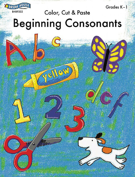 ECS Learning Systems BH89202-Beginning-Consonants-Gr-k-1
