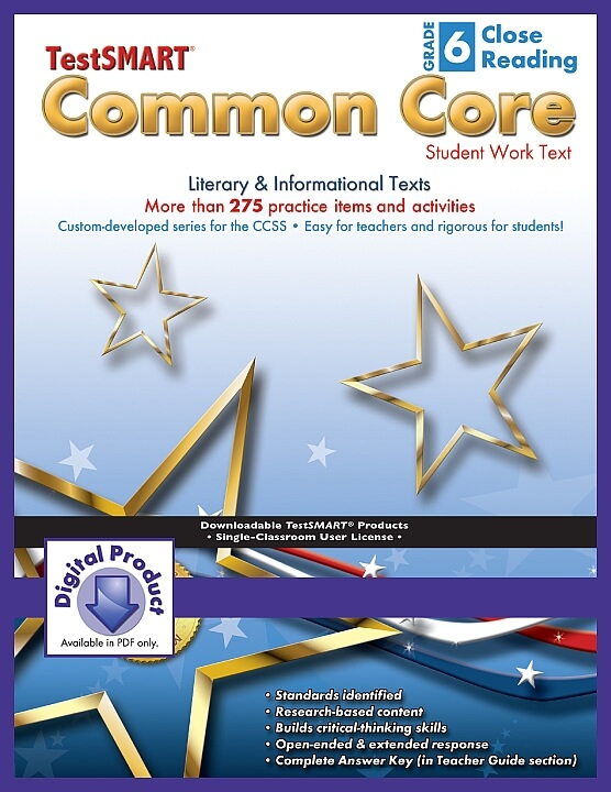 Common-Core-Student-Work-Texts-ebook-version-PDF-Close-Reading-Gr-6